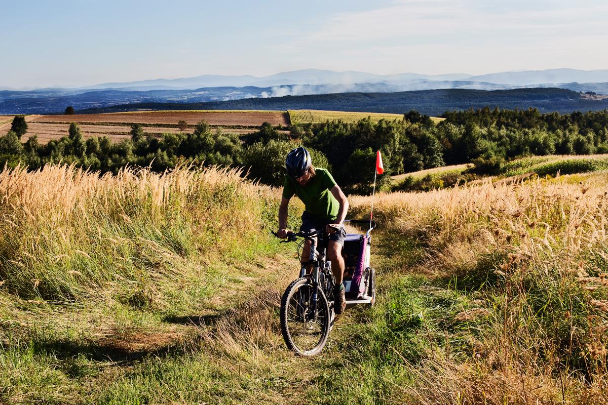 przyczepka rowerowa dla dzieci011