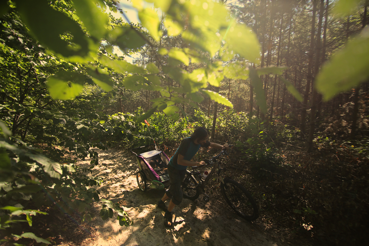 przyczepka rowerowa dla dzieci013